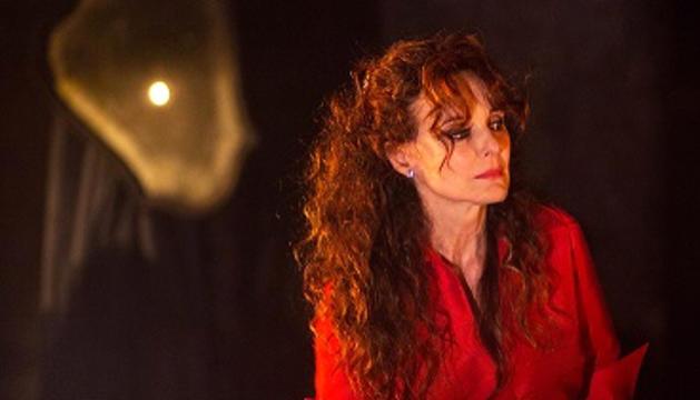L'actriu catalana, un rostre conegut de la televisió espanyola.