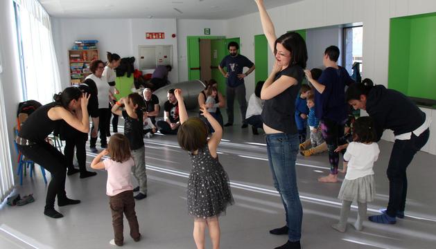 Un moment del taller musical 'Barroski'.