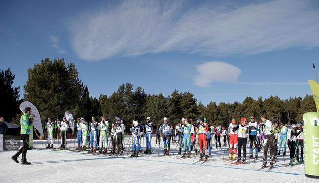 Un centenar d'esquiadors, a la Festa del Nòrdic