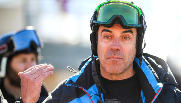 Jordi Pujol, director de cursa de les finals de la Copa del Món de Grandvalira.