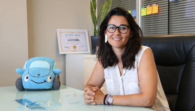 """Alarcón és una de les integrants de Womanthon, iniciativa per """"apoderar"""" dones directives."""