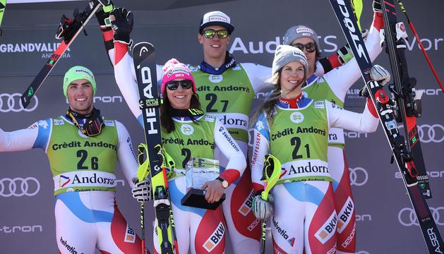 Suïssa es proclama campiona de l'Alpine Team Event