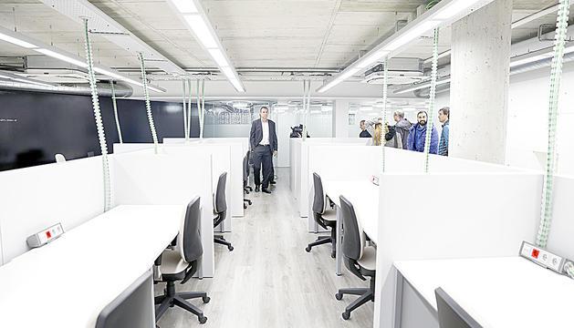 El Niu d'Andorra Telecom, un espai de treball destinat als emprenedors.
