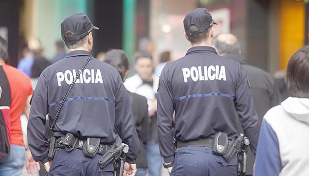 La policia va incrementar els controls durant l'onada de robatoris.