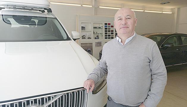 Xavier Calvís exposa la preocupació del sector per la davallada de les vendes.