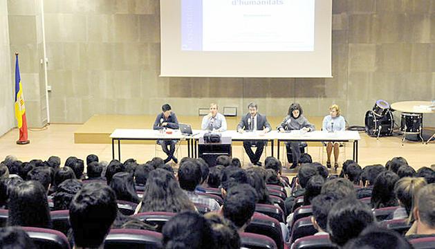 Conferències de Pep Marí a les Jornades d'humanitats