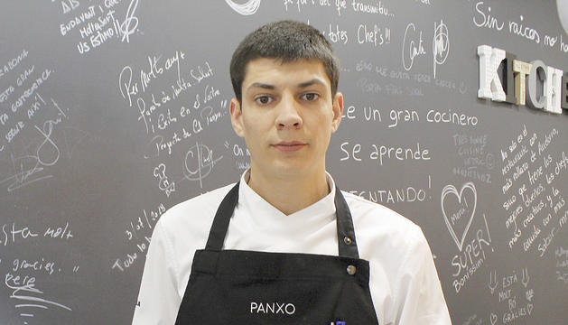 El xef del restaurant Panxo, Miguel Angelo