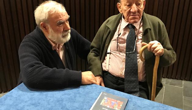 Josep Dallerès i Antoni Morell, editor i autor de l'obra.