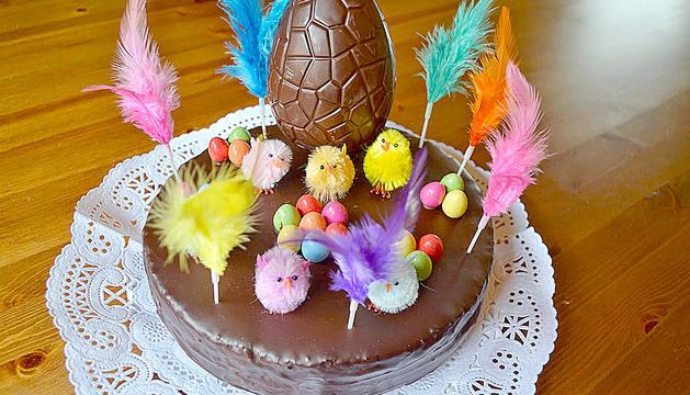 Gallines, ous i conills de xocolata