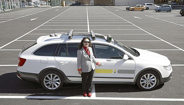 Julia Rodríguez és taxista des de fa 30 anys.