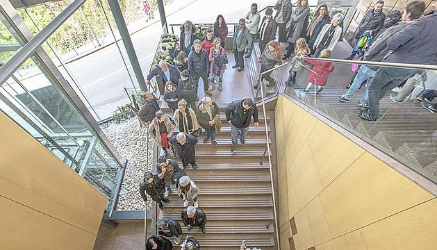 Cua per votar a Andorra la Vella.