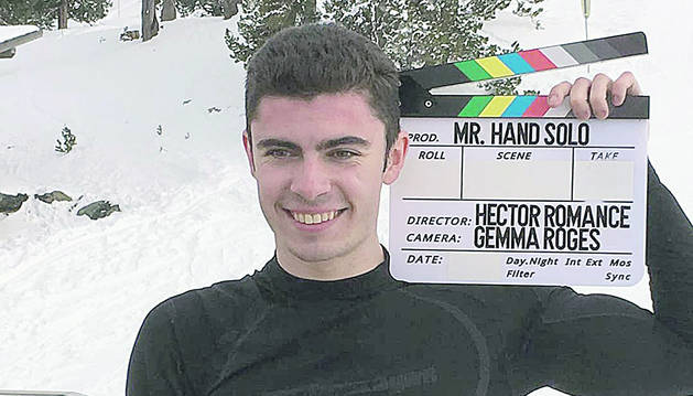 El protagonista del documental, el jove David Aguilar.