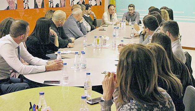 L'executiva demòcrata es va reunir ahir per donar via lliure a les converses de Xavier Espot amb altres partits per a una possible coalició.