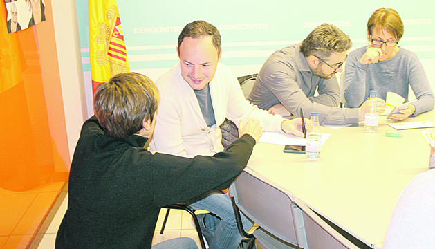 DA va reunir ahir l'executiva per primer cop després de les eleccions del 7 d'abril.