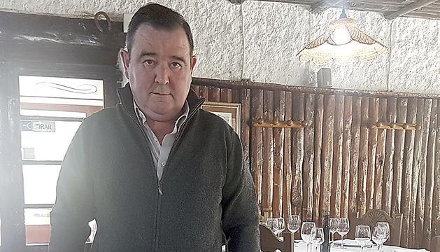 El gerent de La Borda de l'Arena, José Luis Alonso
