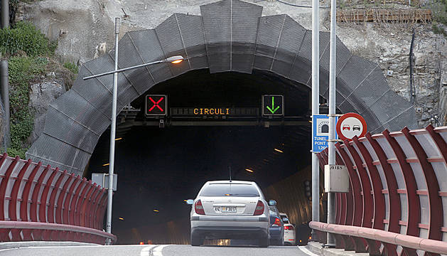 Entrada del túnel del Pont Pla.