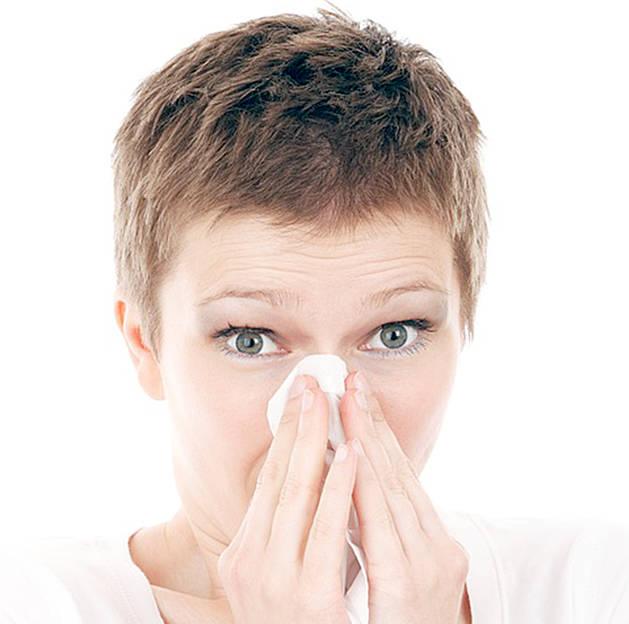 Els esternuts són freqüents en els refredats i en les al·lèrgies