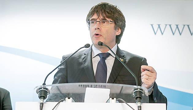 L'expresident de la Generalitat de Catalunya Carles Puigdemont.