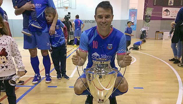 El 'conejo' Saviola guanya la segona lliga amb l'FC Encamp