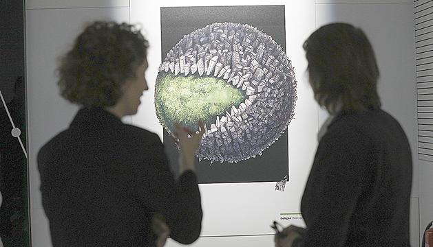 Exposició 'Ça chauffe pour la planète'