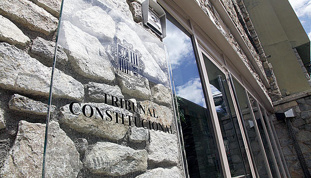 Façana del Tribunal Constitucional.