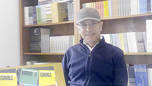 Corominas, coautor de la novel·la.