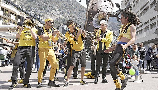 El Sax Fest s'acomiada amb música al carrer