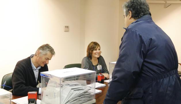 L'estimació del vot en urna d'avui és d'unes 700 persones