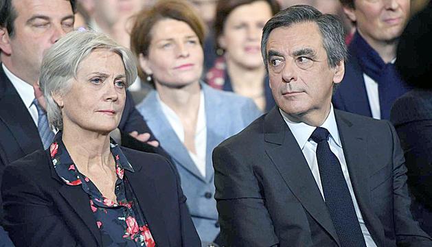 François i Penelope Fillon, en una imatge d'arxiu.
