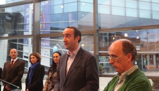 David Baró i Joan Pieras han inaugurat el nou edifici del Museu la Massana Còmic