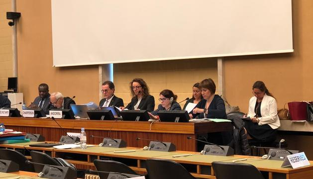 Reunió del Comitè responsable de Nacions Unides a Ginebra