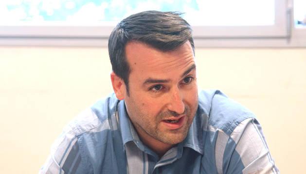 El president d'Agreda, Miquel Àngel Armengol.