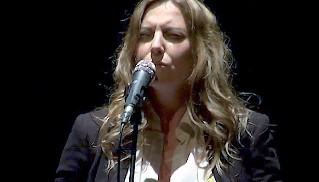 La cantant Bikimel.