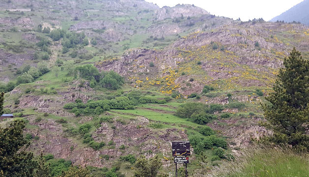 El mirador de la Devesassa es troba a la part final de la ruta.