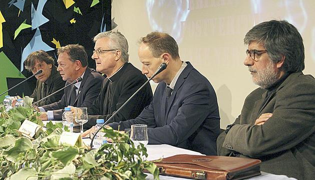 L'acte va comptar amb el copríncep episcopal, Joan-Enric Vives.