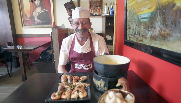 Severano Martínez, xef del Cheese's Art