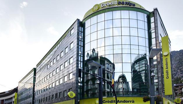 Crèdit Andorrà va tancar l'exercici del 2018 amb un benefici net de 36 milions d'euros.