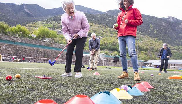 Jocs esportius de la gent gran