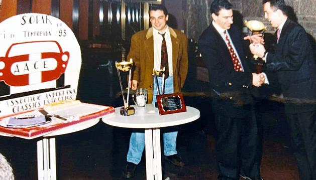 Sopar fi de temporada de l'associació l'any 1993.