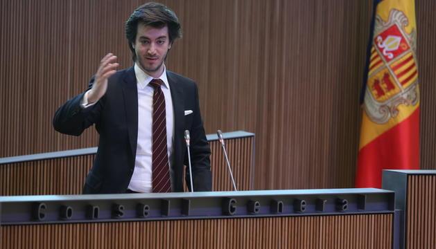 Carles Enseñat ha tancat la sessió matinal del debat d'investidura