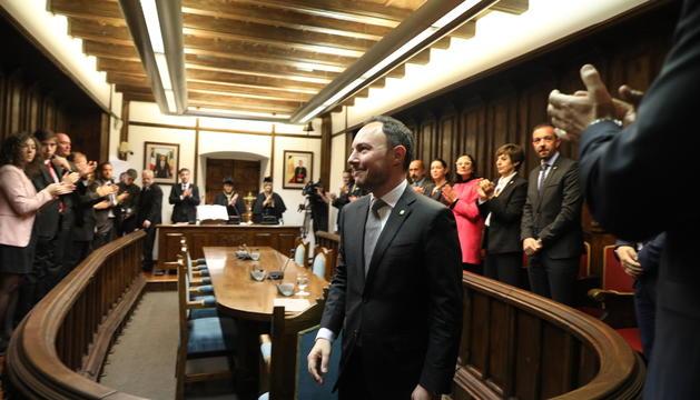 Xavier Espot ha jurat el càrrec a Casa de la Vall