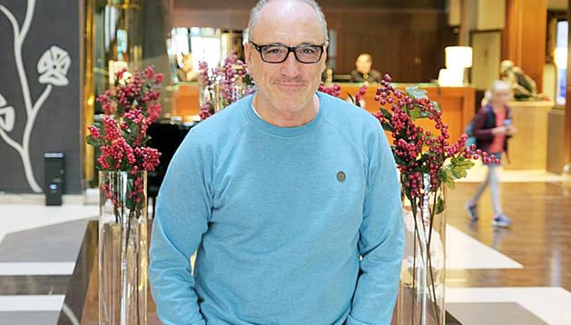 L'actor asturià, durant la seva estada a Andorra.