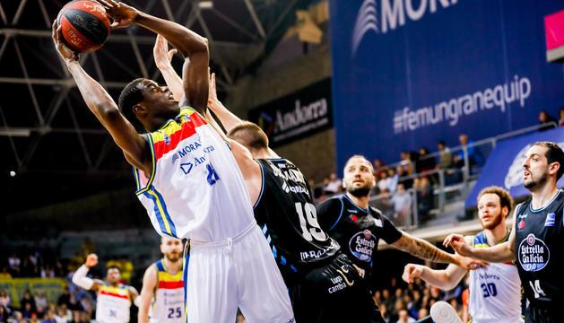 Moussa Diagne va ser el millor del partit.