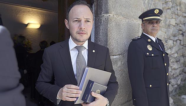 Xavier Espot va jurar dimecres el càrrec de cap de Govern.