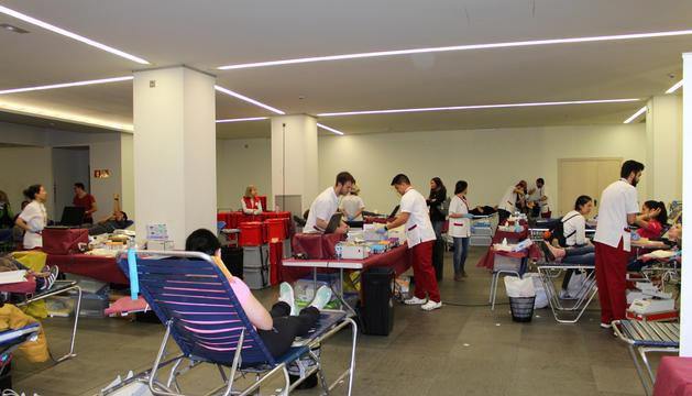 La Marató de sang va aconseguir 502 donacions