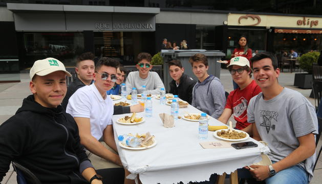 Estudiants de Batxillerat que han participat a la XV Diada Universitària