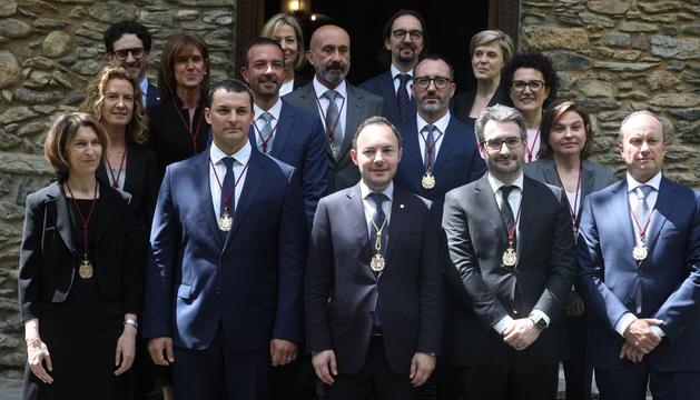 El nou Govern posa després del jurament dels ministres