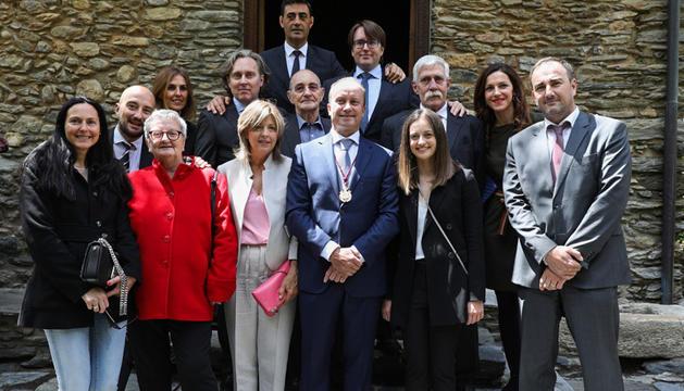 Fotos de família dels nous ministres