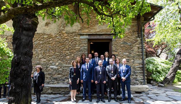 Jornada de jurament dels ministres a Ordino.
