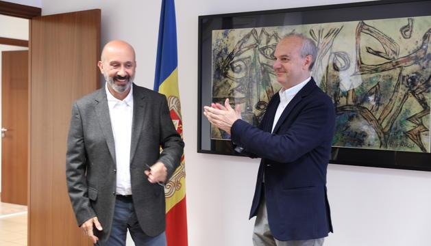 Joan Martínez Benazet succeeix com a ministre de Salut a Carles Álvarez Marfany